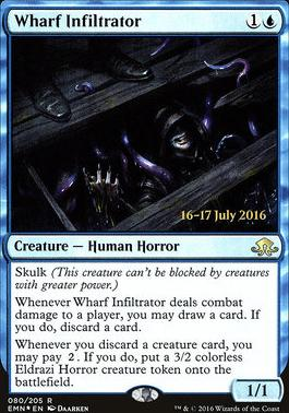 Promotional: Wharf Infiltrator (Prerelease Foil)