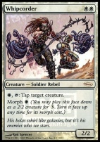 Promotional: Whipcorder (FNM Foil)