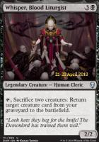 Promotional: Whisper, Blood Liturgist (Prerelease Foil)