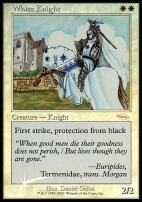 Promotional: White Knight (FNM Foil)