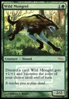 Promotional: Wild Mongrel (FNM Foil)