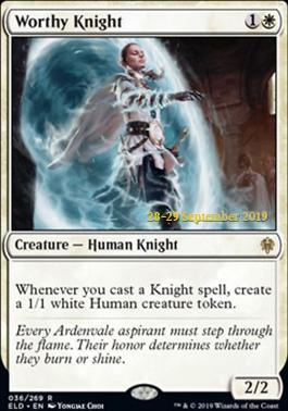 Promotional: Worthy Knight (Prerelease Foil)