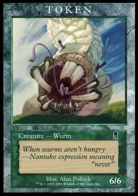 Promotional: Wurm Token (Odyssey)