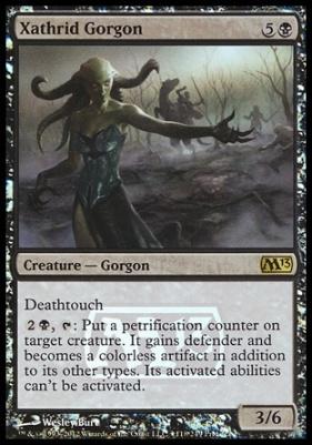 Promotional: Xathrid Gorgon (Prerelease Foil)