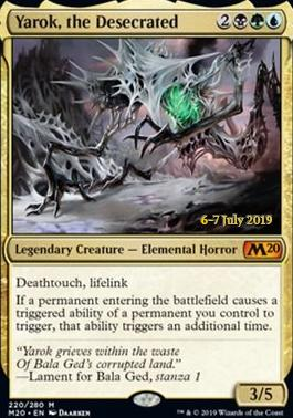 Promotional: Yarok, the Desecrated (Prerelease Foil)