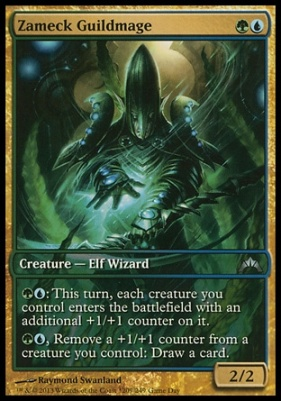 Promotional: Zameck Guildmage (Game Day Extended Art)