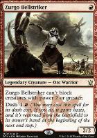 Promotional: Zurgo Bellstriker (Prerelease Foil)