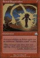 Prophecy Foil: Brutal Suppression
