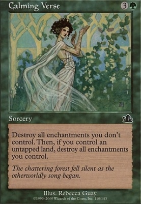 Prophecy Foil: Calming Verse