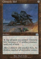 Prophecy Foil: Chimeric Idol