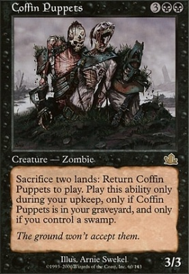 Prophecy: Coffin Puppets