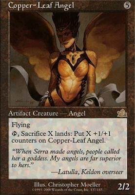 Prophecy: Copper-Leaf Angel