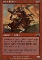 Prophecy Foil: Fault Riders