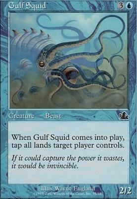Prophecy Foil: Gulf Squid
