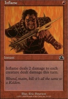 Prophecy Foil: Inflame