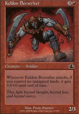 Prophecy: Keldon Berserker