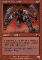 Prophecy Foil: Keldon Berserker