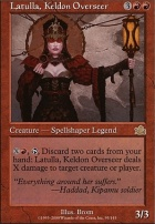Prophecy Foil: Latulla, Keldon Overseer