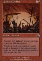 Prophecy Foil: Latulla's Orders