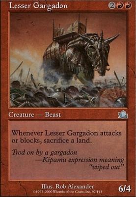 Prophecy: Lesser Gargadon