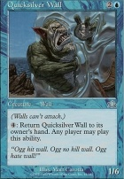 Prophecy Foil: Quicksilver Wall