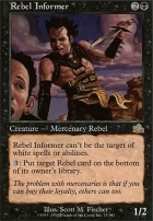 Prophecy Foil: Rebel Informer