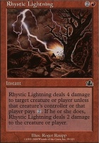 Prophecy Foil: Rhystic Lightning