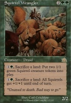 Prophecy Foil: Squirrel Wrangler