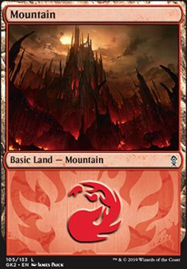Ravnica Allegiance: Guild Kits: Mountain (105 - B)