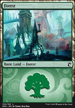 Ravnica Allegiance: Guild Kits: Forest (133 - B)