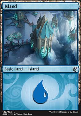 Ravnica Allegiance: Guild Kits: Island (132 - B)