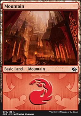 Ravnica Allegiance: Guild Kits: Mountain (079 - A)