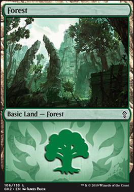 Ravnica Allegiance: Guild Kits: Forest (106 - A)