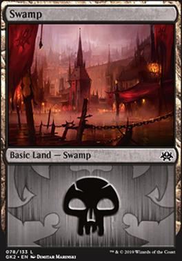 Ravnica Allegiance: Guild Kits: Swamp (078 - B)