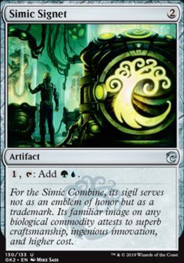 Ravnica Allegiance: Guild Kits: Simic Signet