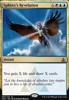 Ravnica Allegiance: Guild Kits: Sphinx's Revelation