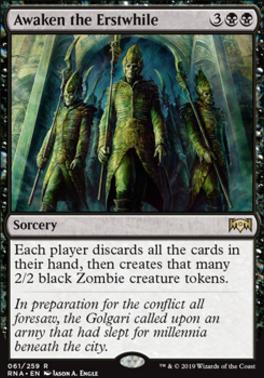 Ravnica Allegiance: Awaken the Erstwhile