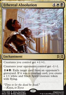 Ravnica Allegiance Foil: Ethereal Absolution