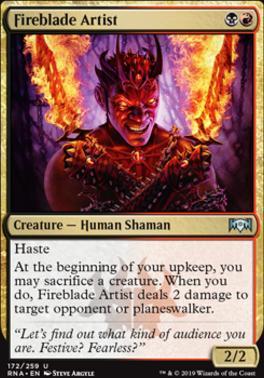 Ravnica Allegiance: Fireblade Artist