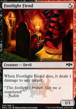 Ravnica Allegiance: Footlight Fiend