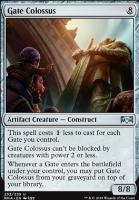 Ravnica Allegiance: Gate Colossus