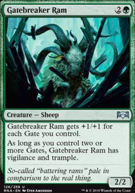 Ravnica Allegiance: Gatebreaker Ram