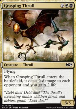Ravnica Allegiance Foil: Grasping Thrull