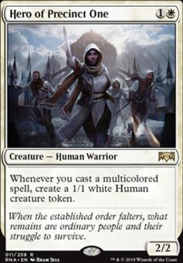 Ravnica Allegiance Foil: Hero of Precinct One