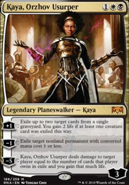 Kaya Orzhov Usurper Ravnica Allegiance Foil Standard Card Kingdom Kaya, orzhov usurper / magic the gathering. kaya orzhov usurper ravnica