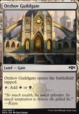 Ravnica Allegiance: Orzhov Guildgate (252 A)