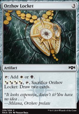 Ravnica Allegiance Foil: Orzhov Locket