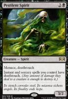 Ravnica Allegiance: Pestilent Spirit