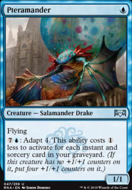 Ravnica Allegiance: Pteramander