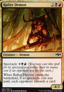 Ravnica Allegiance: Rafter Demon